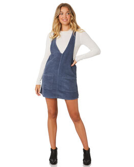 dfd84aee8444 ... BLUE WOMENS CLOTHING RUSTY PLAYSUITS + OVERALLS - DRL0894PEB