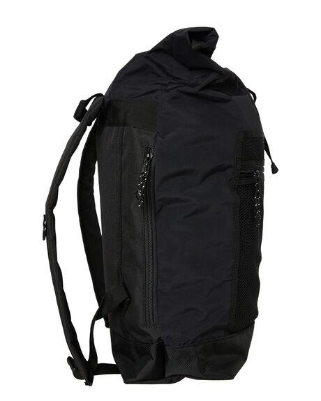 BLACK MENS ACCESSORIES OBEY BAGS + BACKPACKS - 100010106BLK