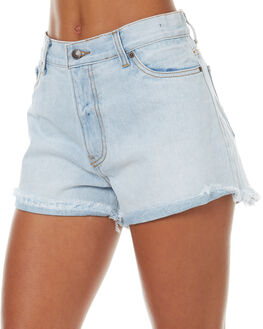 SALT BLUE WOMENS CLOTHING RUSTY SHORTS - WKL0627SAB