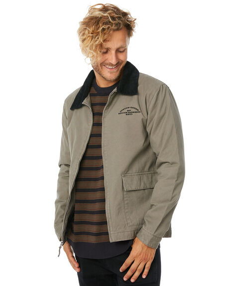 OLIVE MENS CLOTHING RHYTHM JACKETS - APR18M-JK02-OLI
