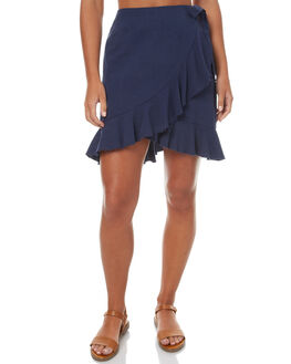 NAVY WOMENS CLOTHING MINKPINK SKIRTS - MP1705432NAV