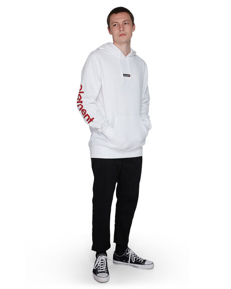 WHITE MENS CLOTHING ELEMENT JUMPERS - EL-107310-WHT