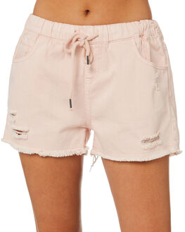 LIGHT BLUSH WOMENS CLOTHING ALL ABOUT EVE SHORTS - 6424085LTBLSH