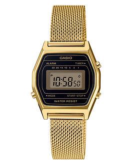 GOLD WOMENS ACCESSORIES CASIO WATCHES - LA690WEMY-1DGLD