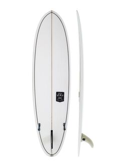 CLEAR BOARDSPORTS SURF CREATIVE ARMY SURFBOARDS SURFBOARDS - CA-HUEVOSLX-CLR