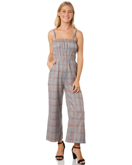 MULTI WOMENS CLOTHING TWIIN PLAYSUITS + OVERALLS - IE19S1455MUL
