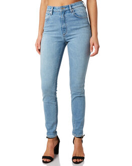 HEAVEN BLUE WOMENS CLOTHING WRANGLER JEANS - W-951471-LP7