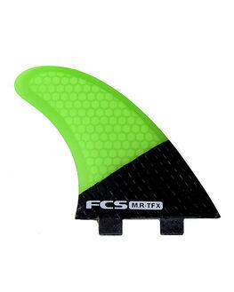 FLURO GREEN BOARDSPORTS SURF FCS FINS - 1122-212-00-R
