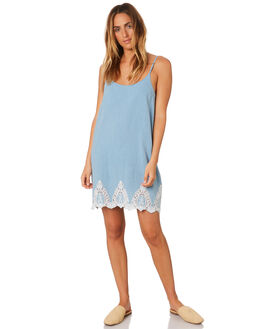 BLUE WOMENS CLOTHING ALL ABOUT EVE DRESSES - 6424063BLU