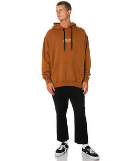 TAN MENS CLOTHING STUSSY JUMPERS - ST091200TAN