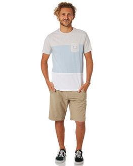 WHITE MENS CLOTHING RIP CURL TEES - CTEOE21000