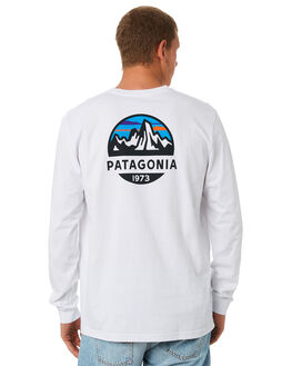 WHITE MENS CLOTHING PATAGONIA TEES - 38434WHI
