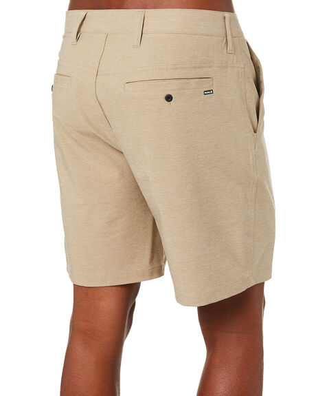 KHAKI MENS CLOTHING HURLEY SHORTS - 895077235