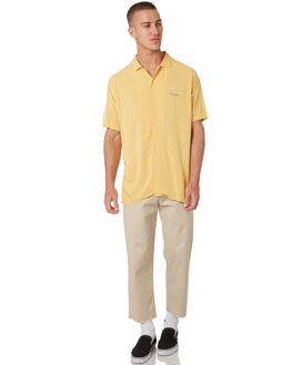 MUSTARD MENS CLOTHING BARNEY COOLS SHIRTS - 302-CC1MUST