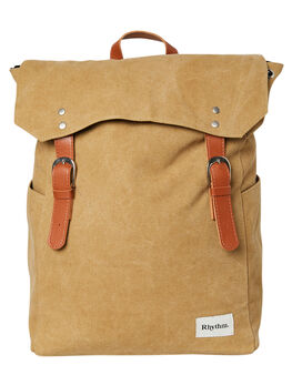 TOBACCO MENS ACCESSORIES RHYTHM BAGS + BACKPACKS - ACC00M-BP01-TOB