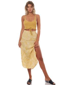 ANTIQUE GOLD WOMENS CLOTHING BILLABONG FASHION TOPS - 6572136A61