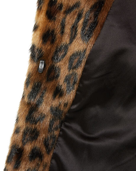 CLASSIC LEOPARD WOMENS CLOTHING UNREAL FUR JACKETS - URF2410045CLEO