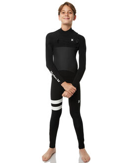 BLACK SURF WETSUITS HURLEY STEAMERS - BFS000014000A