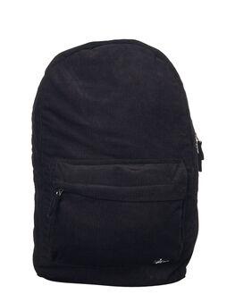 BLACK MENS ACCESSORIES STUSSY BAGS - ST773028BLK