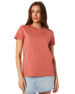 CORAL WOMENS CLOTHING AS COLOUR TEES - 4001CORAL