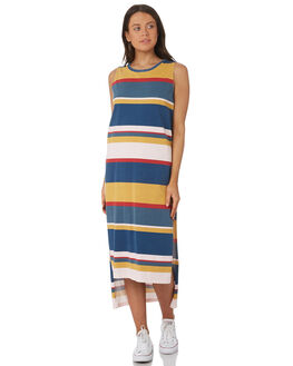 MULTI WOMENS CLOTHING RUSTY DRESSES - DRL0939MTI