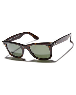 TORTOISE GREEN MENS ACCESSORIES RAY-BAN SUNGLASSES - 0RB214050902