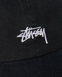 BLACK MENS ACCESSORIES STUSSY HEADWEAR - ST795000BLK