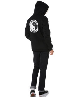 BLACK MENS CLOTHING TOWN AND COUNTRY JUMPERS - TFT310BLK