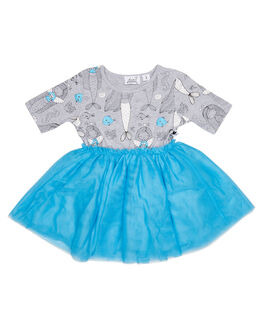SHELL KIDS TODDLER GIRLS KISSED BY RADICOOL DRESSES - KR0802SHL