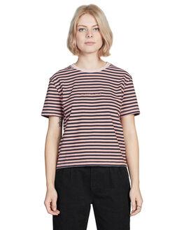 ROSE DAWN WOMENS CLOTHING QUIKSILVER TEES - EQWKT03019-MKB3