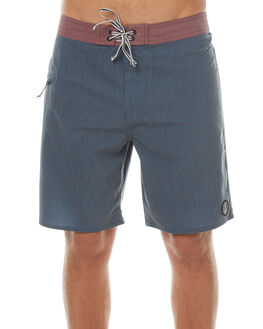 NAVY MENS CLOTHING CAPTAIN FIN CO. BOARDSHORTS - CFM0411600NVY