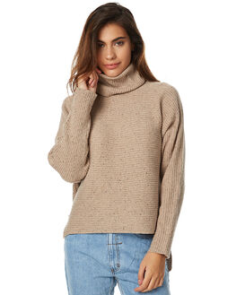 OATMEAL WOMENS CLOTHING CAMILLA AND MARC KNITS + CARDIGANS - OCMK3187OATM