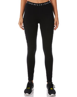 BLACK WOMENS CLOTHING RPM ACTIVEWEAR - 8WWBO1ABLK