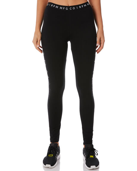 BLACK WOMENS CLOTHING RPM ACTIVEWEAR - 8WWBO1ABLK