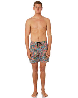 RUST MENS CLOTHING BANKS BOARDSHORTS - BS0201RST