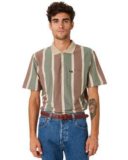 VANILLA MENS CLOTHING BRIXTON SHIRTS - 02645VANIL
