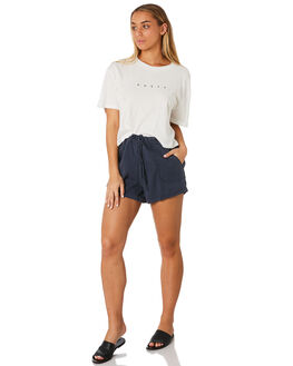 BLUE NIGHT WOMENS CLOTHING RUSTY SHORTS - WKL0667BNI