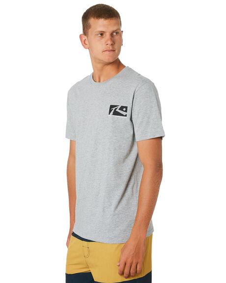 GREY MARLE MENS CLOTHING RUSTY TEES - TTM2079GMA