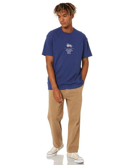 NEW NAVY MENS CLOTHING STUSSY TEES - ST001001NWNVY