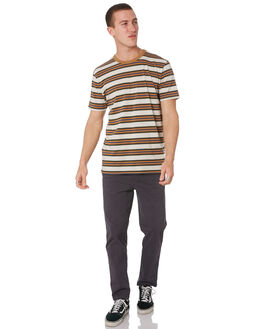 NATURAL MENS CLOTHING STACEY TEES - STTEEOLDLSNAT