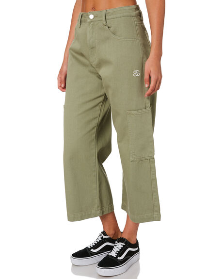 SEAGRASS WOMENS CLOTHING STUSSY PANTS - ST196608SGRSS