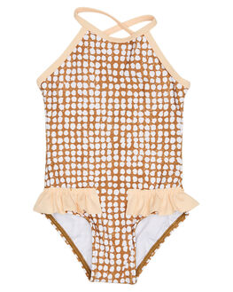 GOLD KIDS GIRLS RIP CURL SWIMWEAR - FSICK10146