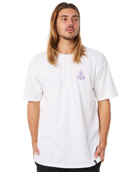 WHITE OUTLET MENS HUF TEES - HUF-TS00322-WHT