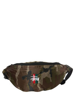CAMO MENS ACCESSORIES STUSSY BAGS + BACKPACKS - ST782006CAMO