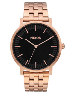 ALL ROSE GOLD  BLK MENS ACCESSORIES NIXON WATCHES - A10571932