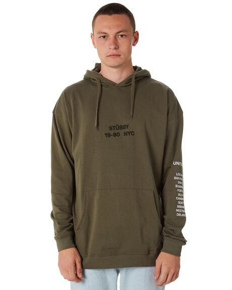 DARK EARTH MENS CLOTHING STUSSY JUMPERS - ST086106DERTH