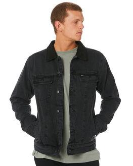 VINTAGE BLACK MENS CLOTHING RVCA JACKETS - R183445VNBLK