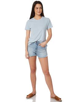BLUE WOMENS CLOTHING RUSTY TEES - TTL0933BFG
