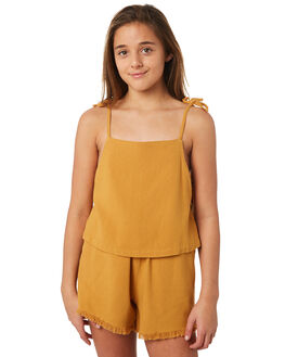 MUSTARD KIDS GIRLS SWELL FASHION TOPS - S6184166MUSTD