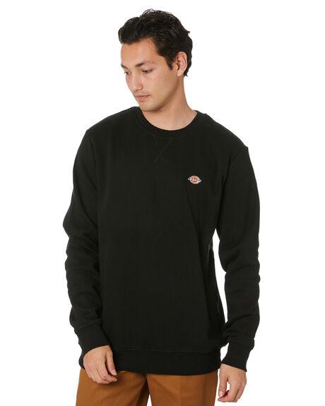 BLACK MENS CLOTHING DICKIES JUMPERS - K3200302BK